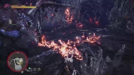 【空虚】PS4怪物猎人世界 冰原-扩散重弩-银火龙捕获