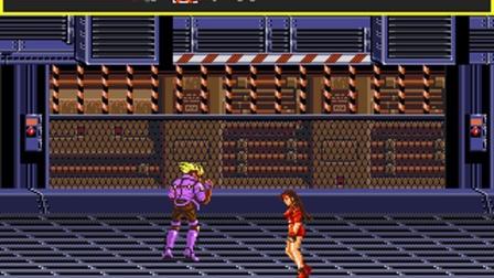 MD版《赤手搏击-怒之铁拳》(格斗三人组)女主角Blaze一命通关