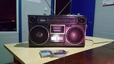 三洋9994收录机收听FM889电台