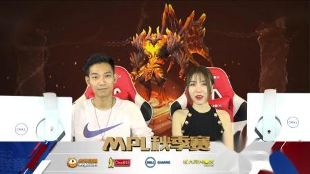 2019MPL秋季常规赛Day17 Ziyo VS 神迹 2