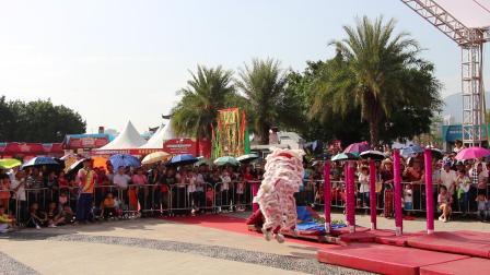 2019年清远市第一届狮王争霸赛  高桩狮1 清远市胜龙武术龙狮团 MVI_6279
