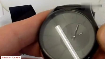萬國講手表開箱一款設計簡單的手表據說直男一眼就看上了