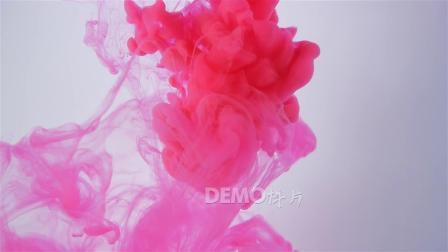 晚会视频 唱歌跳舞 f897 中国风大气彩色水墨水滴烟雾水彩油墨晕染视频鲜艳粉色红色婚礼 歌舞表演晚会舞蹈舞台LED大屏幕背景素材 大学晚会 学校晚会
