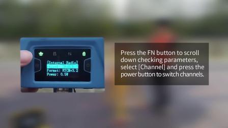Oscar接收机快速启动视频 - 设置移动站内置电台模式