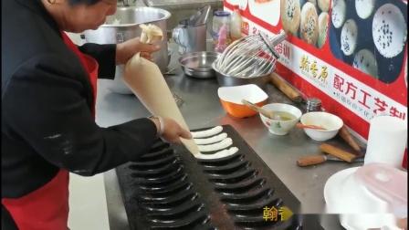 金香蕉蛋糕店加盟真好技术工艺呈现全程动手操作