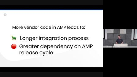 Sustaining an ever-growing AMP component library (
