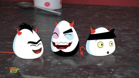 动画片,相扑_芥末蘸Eggz视频_卡通影片的儿童电视
