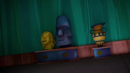 """动画片,睡衣遮住了整集""""粘糊糊的splat""""儿童超级英雄卡通126"""