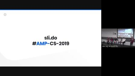 AMP Technical Steering Committee (TSC) panel (AMP