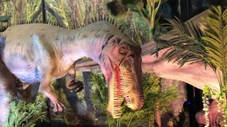 动画片,侏罗纪世界恐龙展览 - 不要接触真人大小的恐龙!现实生活中的恐龙公园