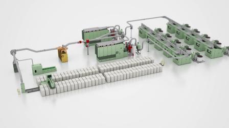 预清棉机 B 15 UNIclean - 柔和、高效、高产