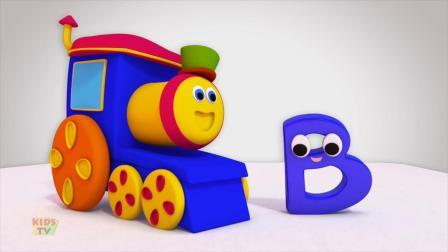 动画片,字母B歌曲_孩子_字母歌_ ABC歌曲_学习街上鲍勃学英语