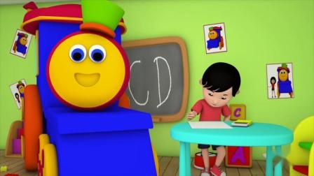 动画片,指家族_鲍勃列车_视频和歌曲对于婴儿_幼儿园童谣由儿童电视