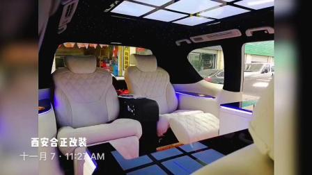 西安改装商务车改装,合正本田艾力绅改装个性化内饰