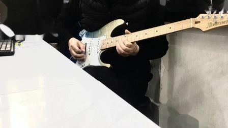 Ibanez AZ zoom G5N过载音色试听 三哥电吉他试听