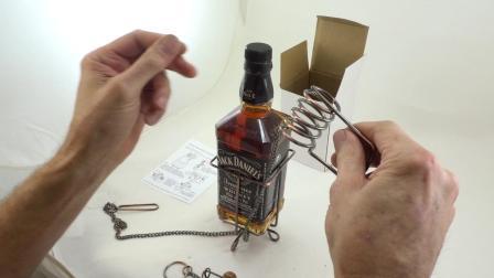 这可能使最安全的酒瓶锁