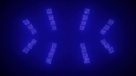 酒吧灯光秀 25颗15W矩阵LED摇头灯