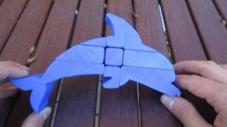 Floppy Dolphin Puzzle _ Custom Puzzle