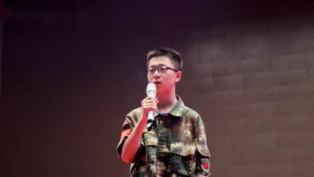 郑州市二七区嵩山路学校九年级军事拓展特训