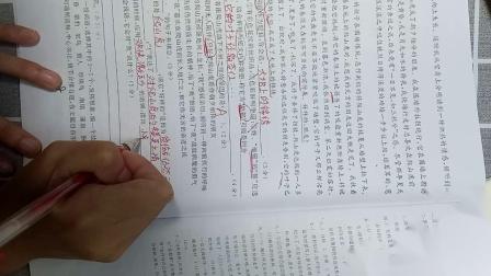 11月7日  五年级语文 期中7(作文)+第五单元A