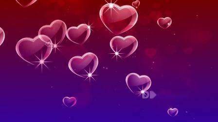 元旦晚会视频 节目表演 E94 红色爱心心型粒子动画喜庆婚礼婚庆表白求婚情人节寿宴寿庆歌舞表演节目舞台LED视频背景 年会视频 动感视频素材