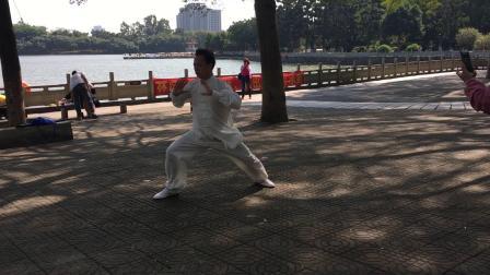 2019.11.08大夫山森林公园练习(陈式太极拳老架一路74式)