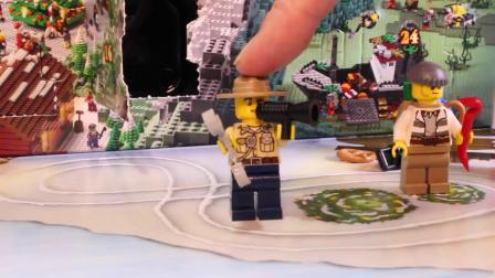 动画片,乐高星球大战出现日历VS LEGO CITY出现日历2015年