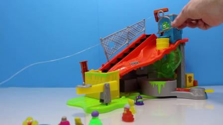 动画片,垃圾包SEWER DUMP Trashies开幕+垃圾包垃圾车玩具回顾