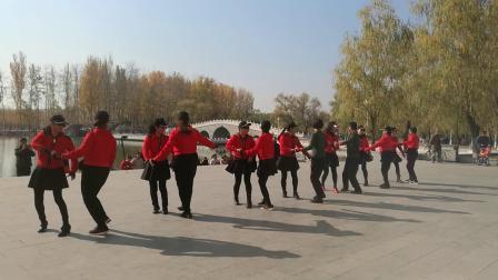 涿州舞友来到韩村河公园舞二套