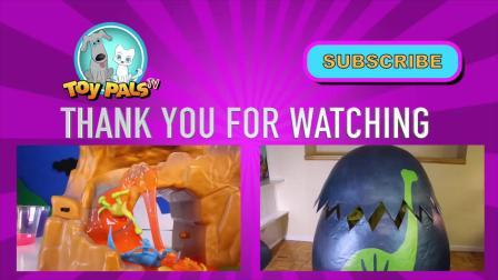 动画片,恐龙泥出奇蛋 - 恐龙当家玩具泥泥咕咕软泥YUCK!