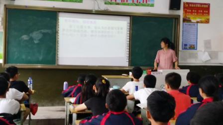 初中语文课教学(贺宜美)