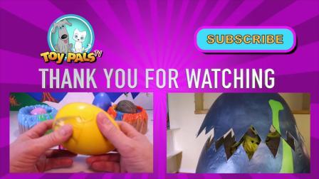 动画片,恐龙煤泥山 - 恐龙玩具视频与总粘土泥软泥