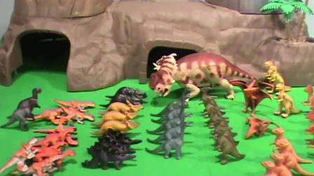 动画片,恐龙玩具为孩子打开视频玩具,恐龙60+视频 - 视频玩具,恐龙