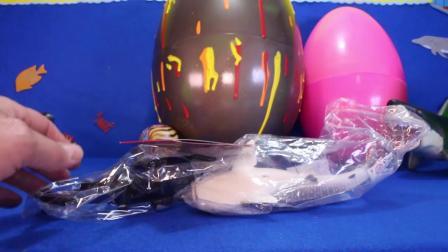 动画片,惊喜SHARK玩具GIANT鸡蛋玩具鲨鱼,虎鲸,海洋动物,ORCA KIDS影片