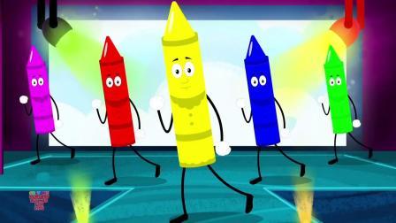动画片,玛丽·玛丽完全相反童谣为孩子_婴儿儿童歌曲通过蜡笔