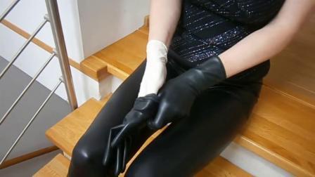 gloves手套美女 1