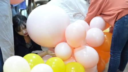 创意气球课——马卡龙色系场景主题
