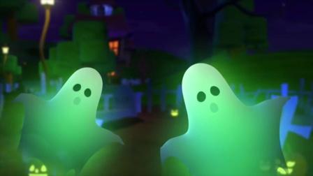 动画片,它是一种可怕的南瓜万圣节_ _韵万圣节鬼视频_ Farmees