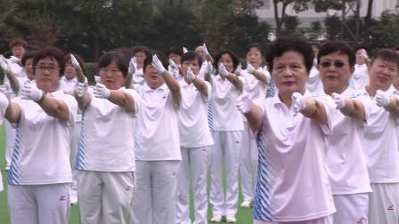 上海市第三届佳木斯行进有氧健身操汇操表演