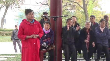 王芝云女士.唐先生演唱京剧《打龙袍》龙车凤辇进皇城