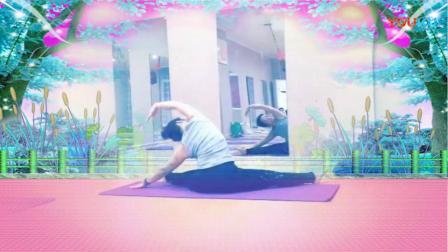 舞韵瑜伽《天边》背面