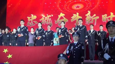 老警官艺术团舞蹈队参加市局慰问干警演出排练花絮