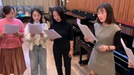 女声合唱《我爱你中国》陈一新编曲,湖南羽乐女子合唱团视唱,20191108