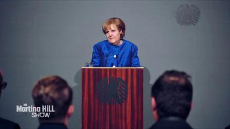 屌丝女士 Angela Merkel betritt Neuland - Die Martina Hill Show - SAT.1 TV