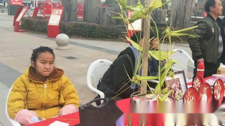 朱亭语两女儿参加《宿迁市2019文化四季民俗迎春》活动启动仪式_1