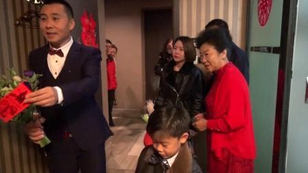 2019年10月26日新郎李可&新娘王智淼接亲