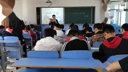 木兰县吉兴中学谷玉军中学语文课《我的叔叔于勒》