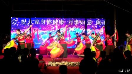 文斗舞蹈队,下西湖演出,