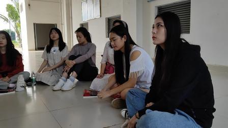 """广东海洋大学表演1192活力在基层《学习党的十九大精神》""""学习十九大,读懂新时代"""""""