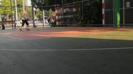 豪情篮球馆·挑投练习